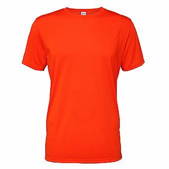 Gildan Core para hombre manga corta humedad Wicking camiseta