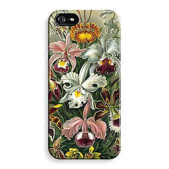 iPhone 5 / 5 sek / SE Full Print saken (glanset) - Haeckel Orchidae