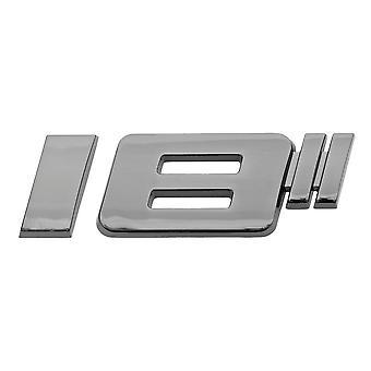 Luxbling Auto Chrome Rims inch 3D Emblem-Black 16-20