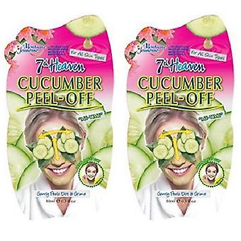 7th Heaven Cucumber Peel Off 2 Pack