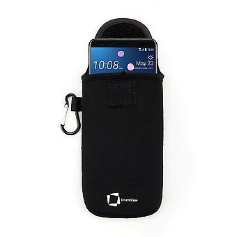 Funda protectora de neopreno InventCase para HTC U12+ - Negro