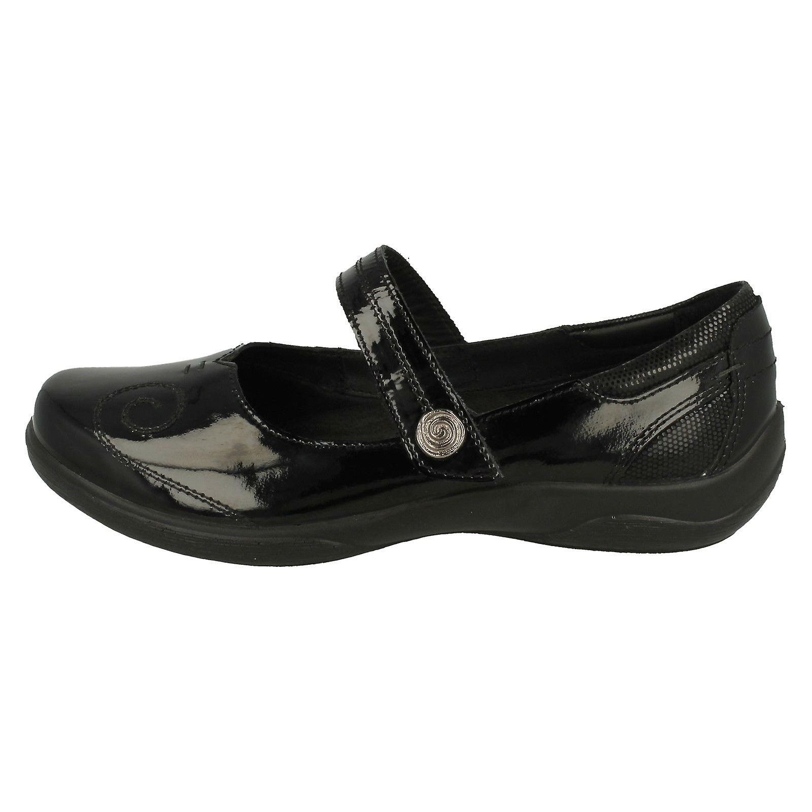 Ladies Padders Lyric Dual Fitting Mary Jane Styled Shoes