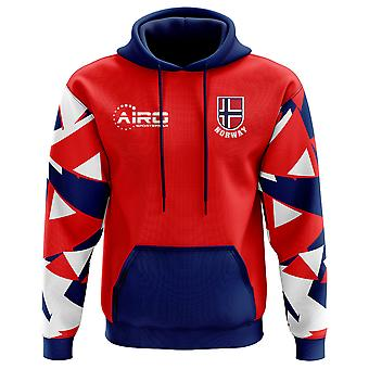 2020-2021 Norway Home Concept Football Hoody (Kids)