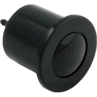 Herga Electric 6434-00 Air Button Microbore - Black