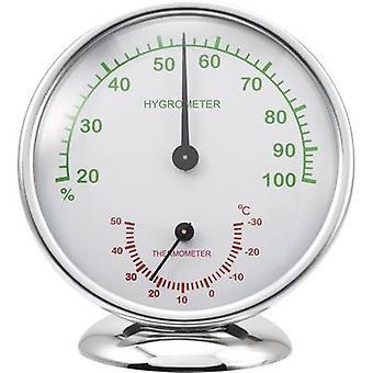 Aluminio de aluminio termo-higrómetro Renkforce 6510