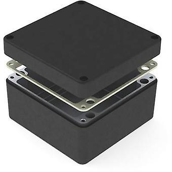 Deltron skap 487-161609B Universal kabinett 160 x 160 x 90 Aluminium svart 1 eller flere PCer