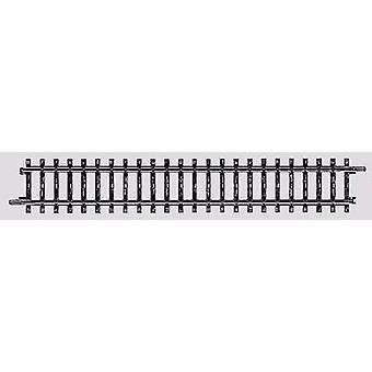 2200 H0 Märklin K (w/o-Rail bed) recht spoor 180 mm