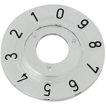 Mentor 331.203 nummerierte Zifferblatt-Scheibe, 1-9