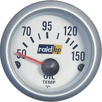 raid hp 660221 Oil Temperature Gauge 50 - 150°C voltage12V