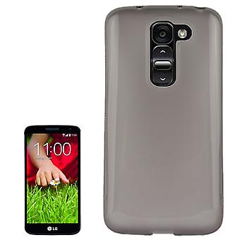 Protective case for mobile LG Optimus G2 / D802 grey