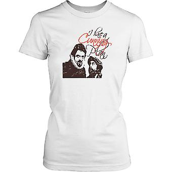 Je avoir un plan Cunning - Baldrick Ladies T-shirt