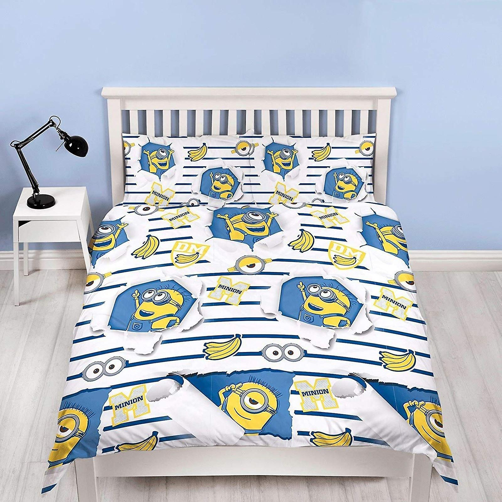 Despicable Me Awesome Double Duvet Cover