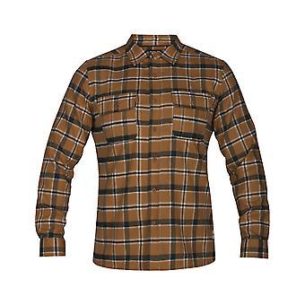 Hurley Dri-FIT Hemmingway långärmad skjorta i Monarch Heather