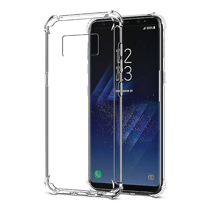 Stuff Certified® 10-Pack Transparent Clear Silicone Case Cover TPU Case Samsung Galaxy S8 Plus