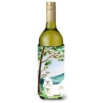 Under the Tree Maltese Wine Bottle Beverage Insulator Hugger