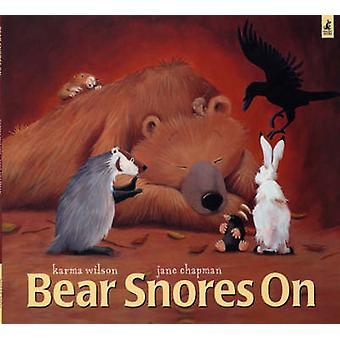 Bjørn snorker på Karma Wilson - Jane Chapman - 9780743462099 bog