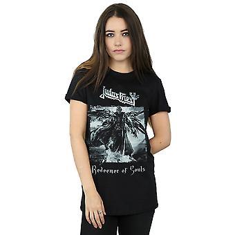 Judas Priest Women's Redeemer Of Souls Boyfriend Fit T-Shirt