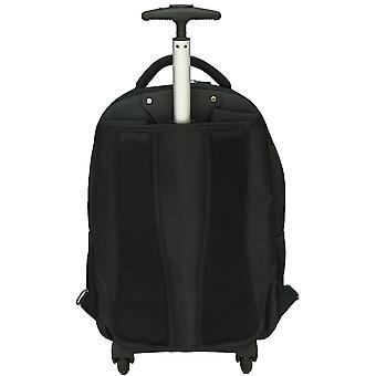 "City Bag Hybrid Backpack On Wheels Laptop Trolley Wheeled Rolling 15.6"" Computer Bag Hand Luggage"
