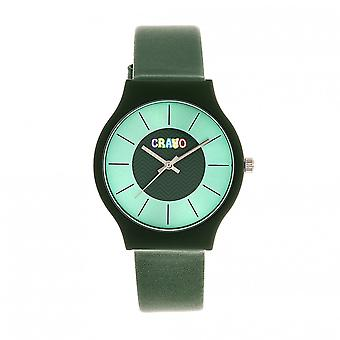 Crayo Trinity Unisex Watch - Teal