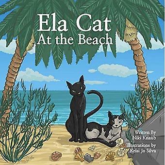 Ela kat op het strand [Board boek]