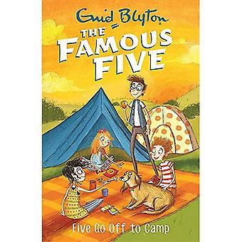 Beroemde vijf: Vijf afgaan naar kamp: boek 7 (beroemde vijf)