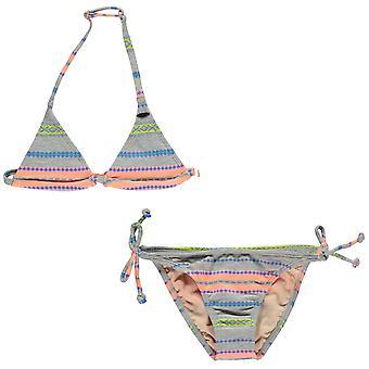 ONeill Kids filles Stripe Bikini Junior Set Quick hydrofuge respirante