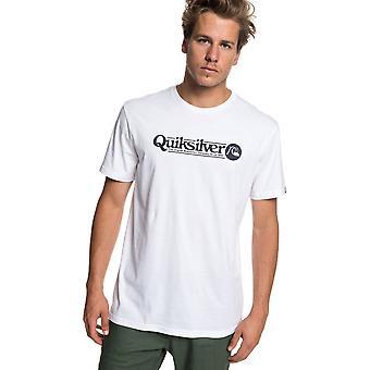 Quiksilver Art Tickle Short Sleeve T-Shirt in White