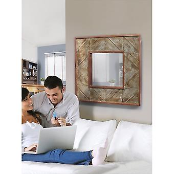 Schuller Alpes Mirror, Cupper, 80x80