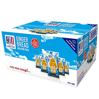 Hill Biscuits Gingerbread Men Mini Packs