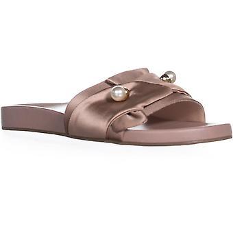 Bar III naisten Ravyn kangas avoin toe rento Slide sandaalit