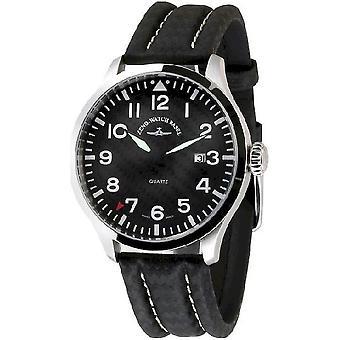 Zeno-Watch Herrenuhr Navigator NG Quartz, carbon 6569-515Q-s1