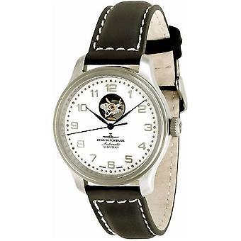 Zeno-watch mens watch NC retro open heart 9554U-e2