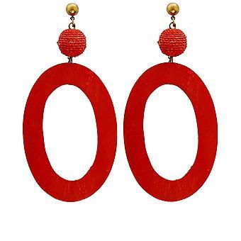 Zen Jewellery Oval Dangle Earrings