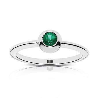 Ohio University Emerald Ring In Sterling Silver Design di BIXLER