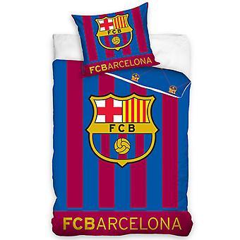 FC Barcelona Glow a sötét paplanhuzat szettben - Európai méret