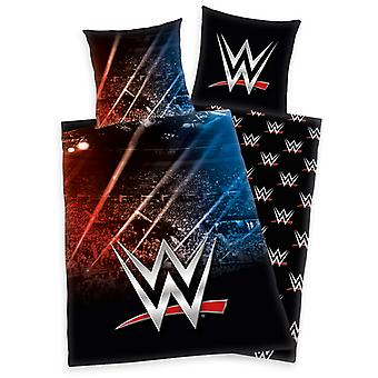 WWE Stadium Single Duvet Cover and Pillowcase Set