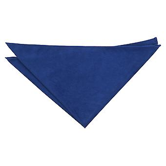 Royal Blue Suede Pocket Square