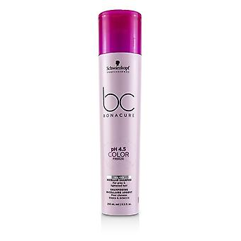 Schwarzkopf Bc Bonacure Ph 4.5 Color Freeze Silver Micellar Shampoo (for Grey & Lightened Hair) - 250ml/8.5oz