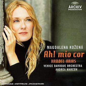 Magdalena Kozena - Ah! Mio Cor: Handel Arias [CD] USA import