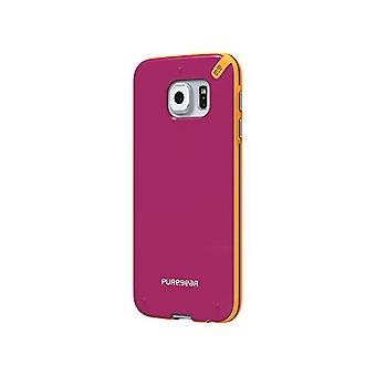 PureGear Slim Shell Case for Samsung Galaxy S6 - Sunset Pink