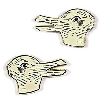 Pin Set - Duck & Rabbit New 5308