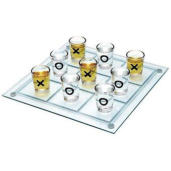 Bigbuy Game shots 3 in a row (Kitchen , Household , Cups and glasses)