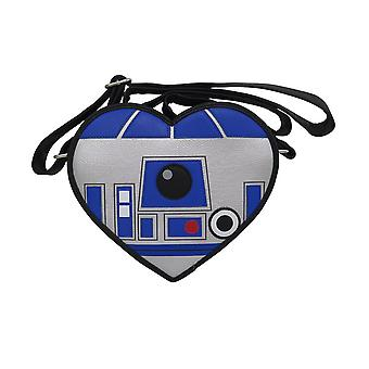 Star Wars R2D2 Heart Faux Cuir Crossbody Bag Star Wars R2D2 Heart Faux Cuir Crossbody Bag Star Wars R2D2 Heart Faux Leather Crossbody Bag Star Wars