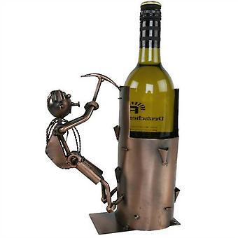 Wein Flasche Halter Bergsteiger