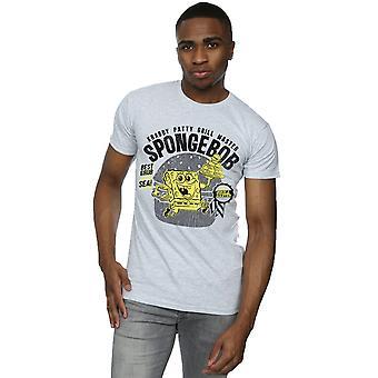 SpongeBob SquarePants Uomini's Krabby Patty T-Shirt