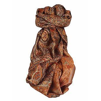 Mens Jamawar Premium Silk Scarf Pattern 7389 by Pashmina & Silk