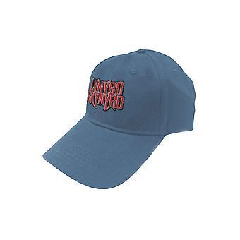 Lynyrd Skynyrd Baseball Cap Band Logo new Official Blue Strapback