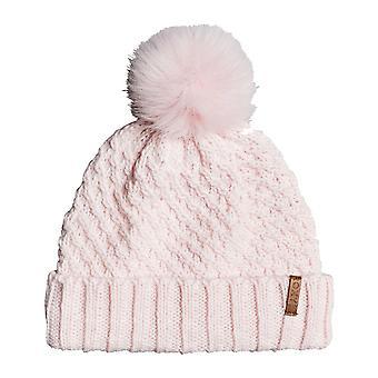 Roxy Blizzard Bobble Hat in M Pink