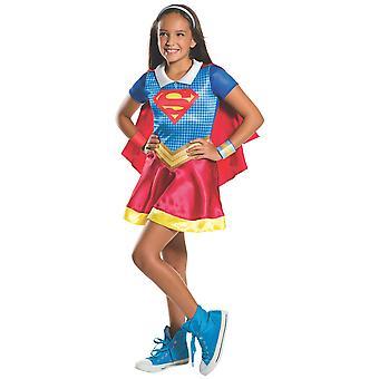 Supergirl DC Comic Super Hero Superhelden Film Buch Woche Mädchen Kostüm