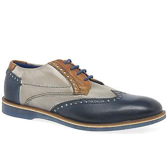 Bugatti Factor Mens Lace Up Wing-Tip Brogues